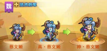 我的帝国h5小游戏武将蔡文姬