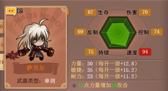 h5小游戏乱斗堂3萨贝尔玩法攻略