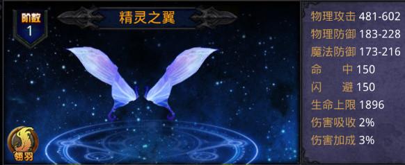 星辰之翼重生满V版精灵之翼