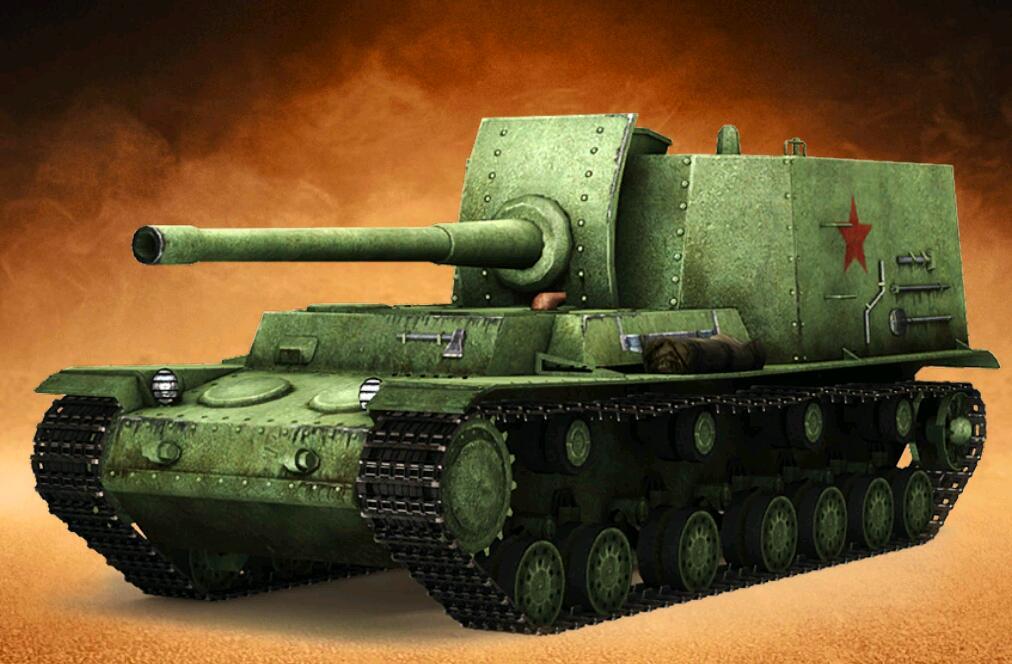 王者坦克满V版精英攻城212工程自行火炮