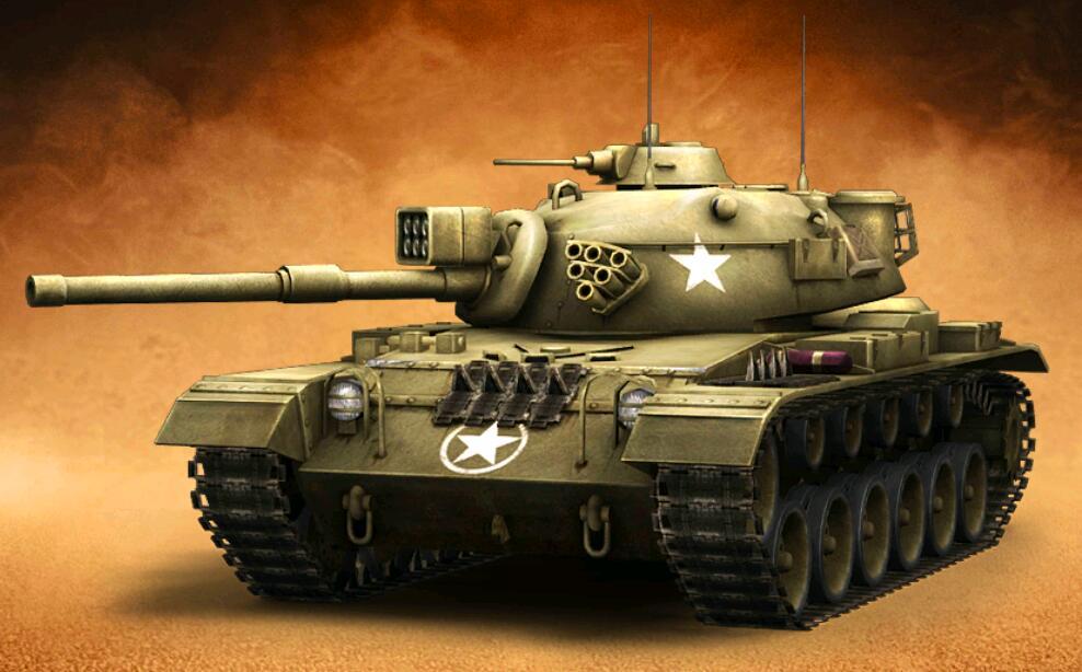 王者坦克满V版普通M60巴顿