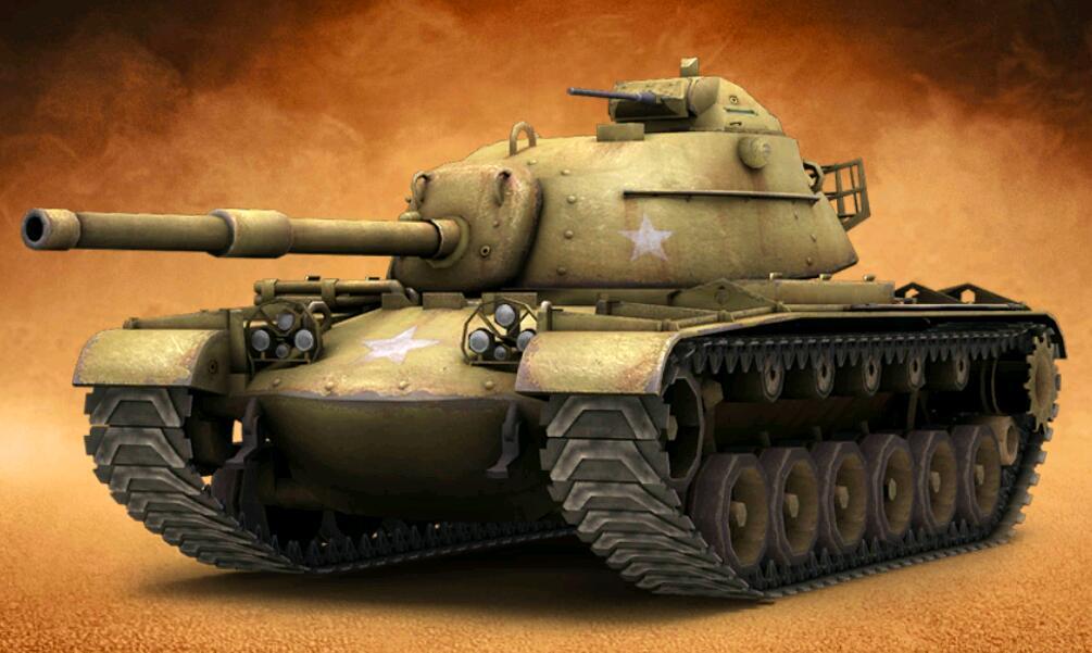王者坦克满V版普通M48巴顿